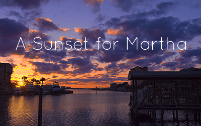 A Sunset for Marthe