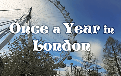 Once a Year in London