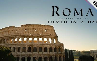 Rome: Filmed in a Day