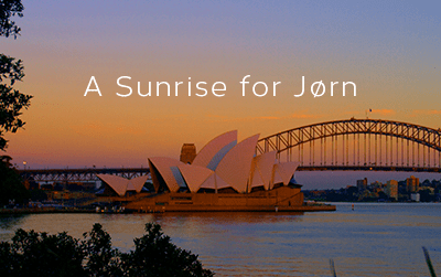 A sunrise for Jorn