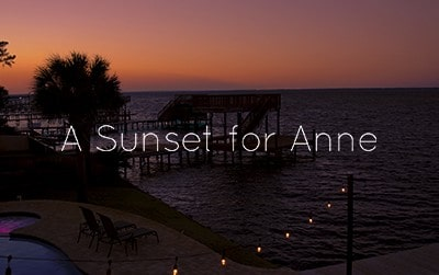A sunset for Anne