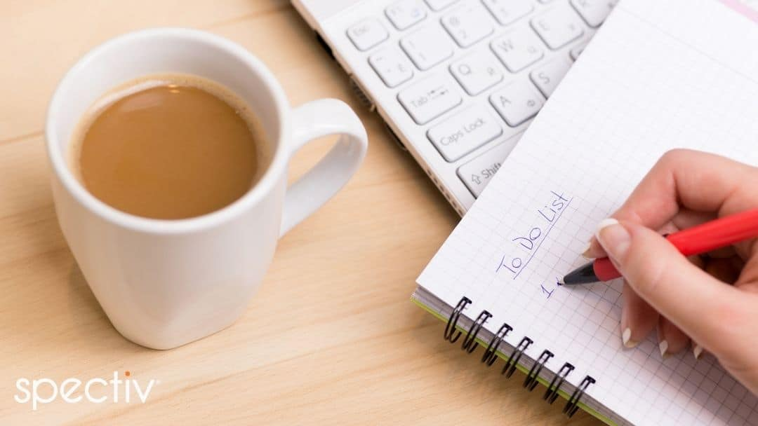 Coffee and To-Do list